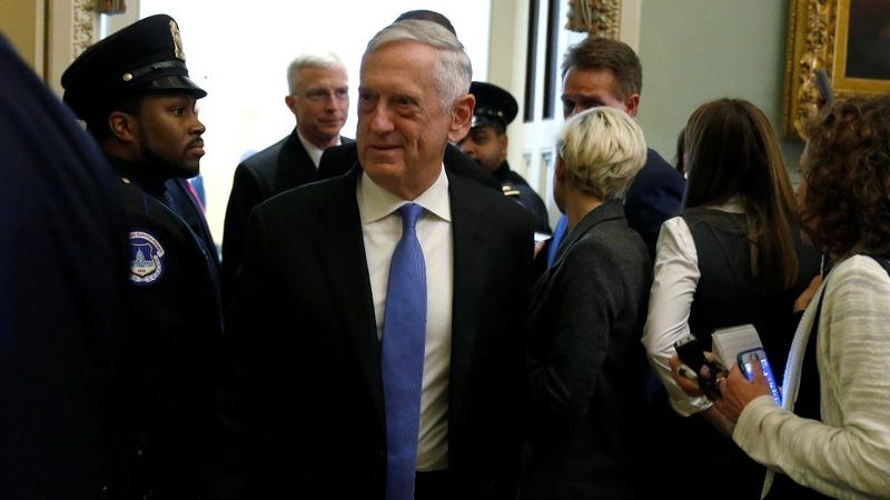 VERBATIM: Mattis slams Congress budget battles
