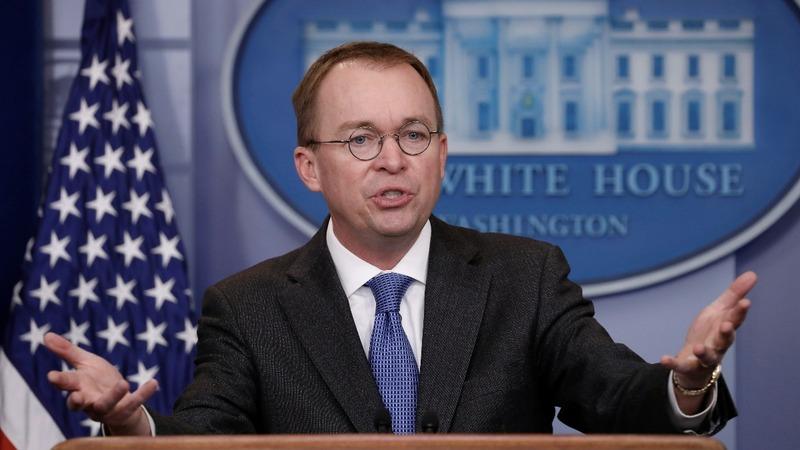 VERBATIM: White House warns of a 'Schumer Shutdown'