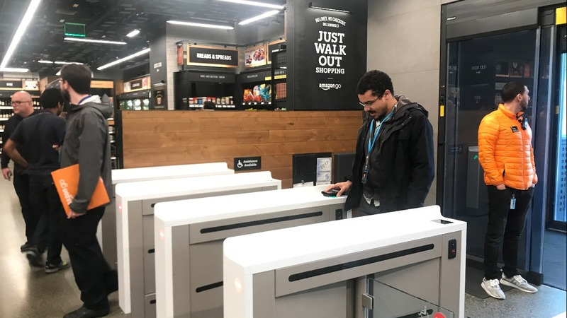 Amazon's automated grocery store of the future