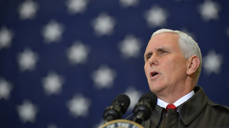 VERBATIM: Pence critical of politicians over shutdown