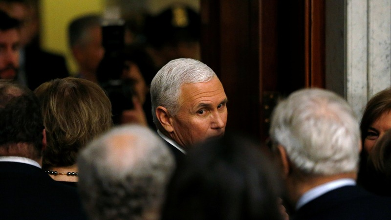 Amid drama, Pence quietly advances conservative agenda