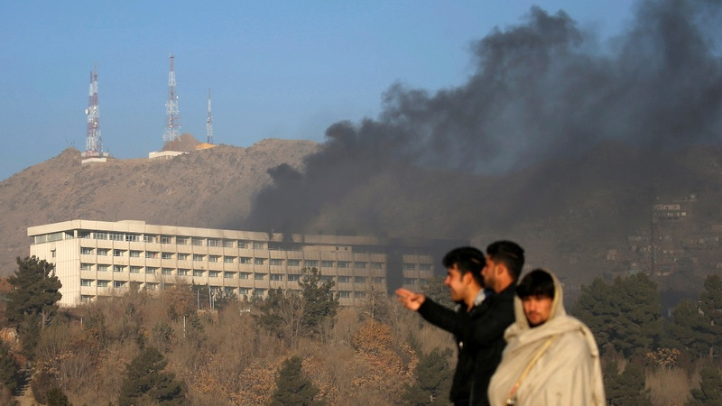 Afghan forces end deadly 13 hour Kabul hotel siege