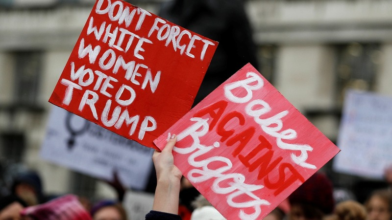 INSIGHT: Women march for equal rights in London