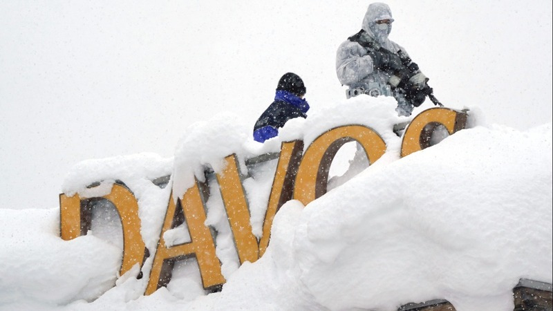 Snow, Trump set to besiege World Economic Forum