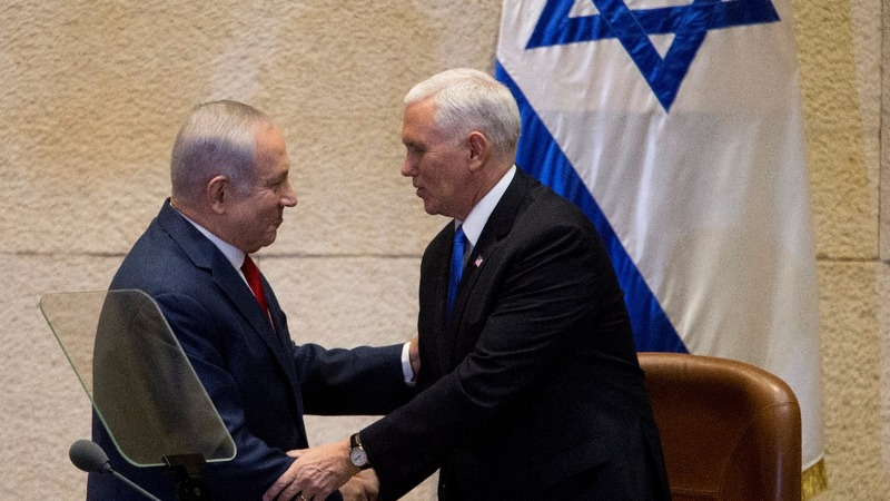 U.S. embassy in Jerusalem by the end of 2019: Pence