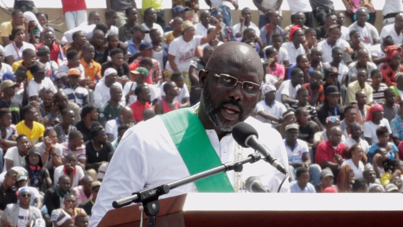 INSIGHT: George Weah sworn in as Liberia's president