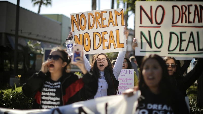 Dreamers disappointed that Congress deferred DACA deal