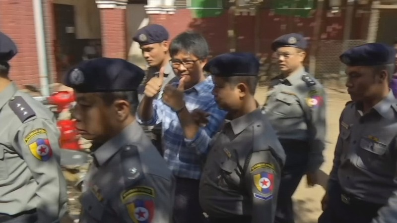 Myanmar acted swiftly against Reuters journalists