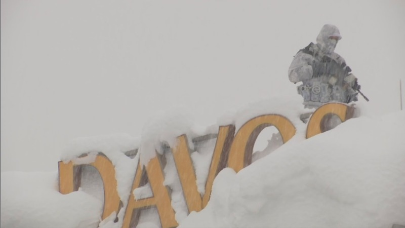 Davos 2018: Heavy snow and heavy hitters