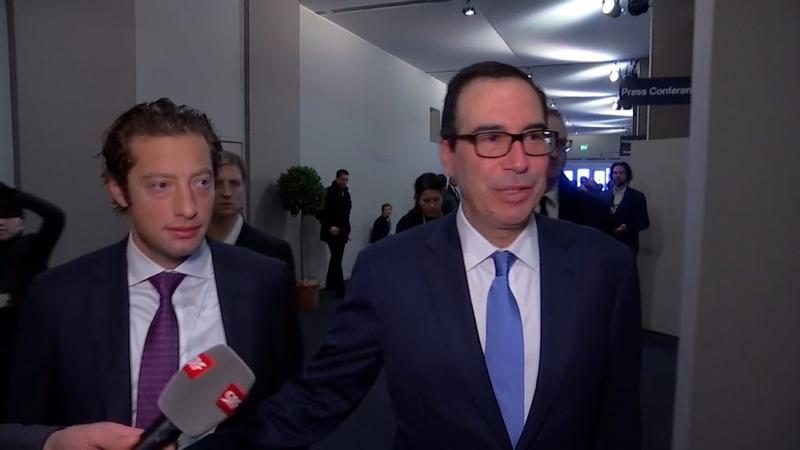 'America First' delegates arrive in Davos
