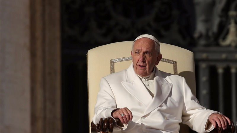 Pope Francis says fake news is satanic