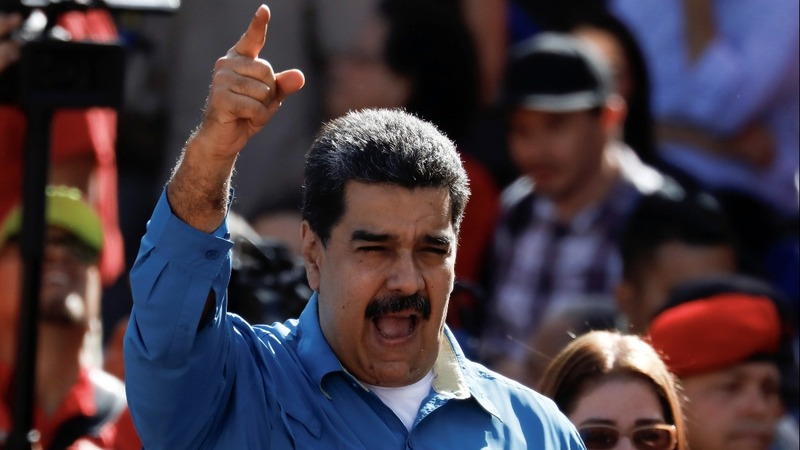 Maduro signals 'anti-Trump' stance in reelection bid