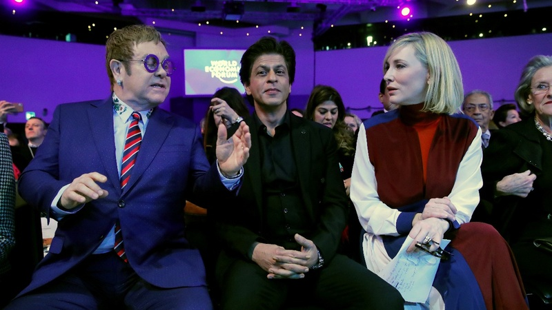 Bollywood superstar on his Davos award