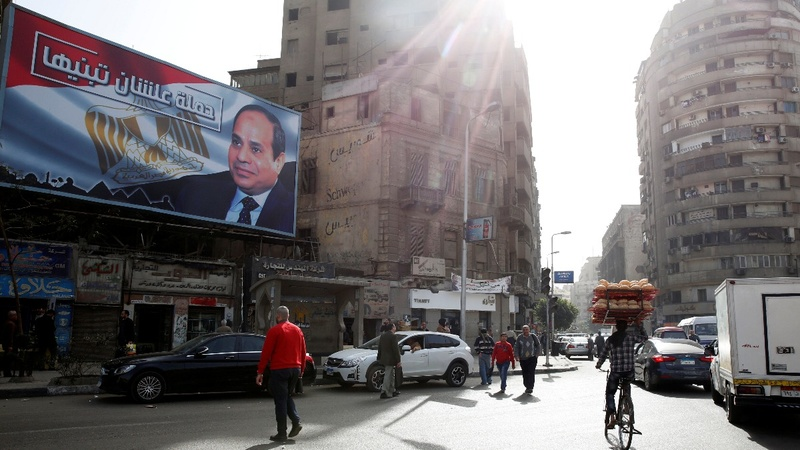 Clear presidency run for Egypt's Sisi as opposition withdraws