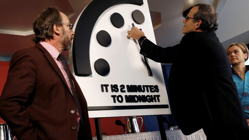 INSIGHT: 'Doomsday Clock' closest to midnight since Cold War