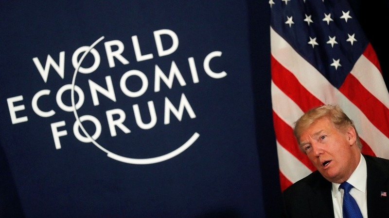 Davos readies for the final event: Donald Trump