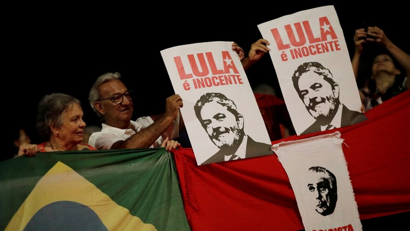 With 'no plan B', Brazil's left sticks by Lula