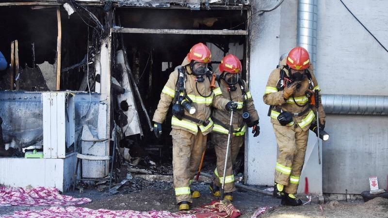 South Korean hospital blaze kills at least 37