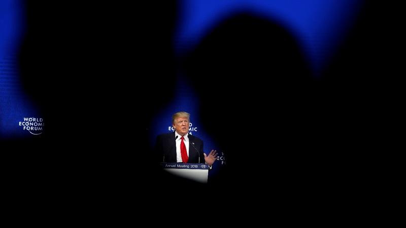 VERBATIM: Trump speech raises eyebrows, outrage in Davos