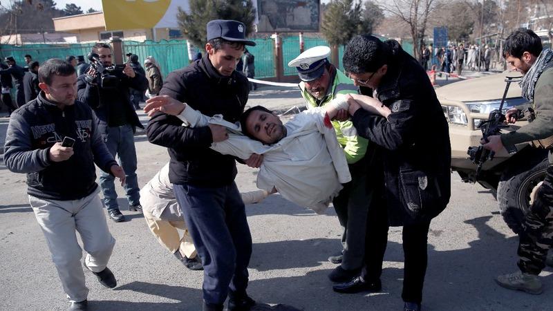 Scores dead in Kabul bomb attack