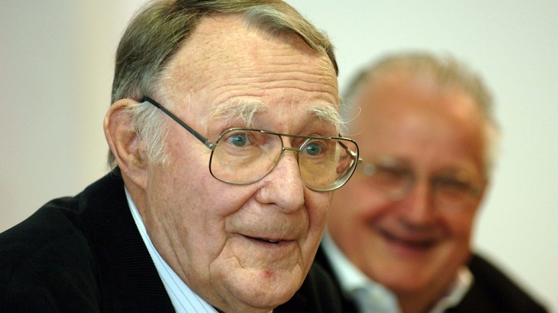 IKEA's Swedish founder dies aged 91