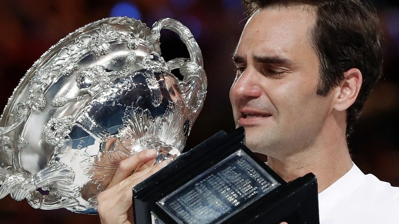 Federer wins sixth Australian Open