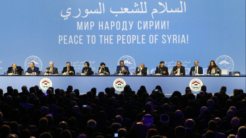Lavrov heckled at Syria peace talks