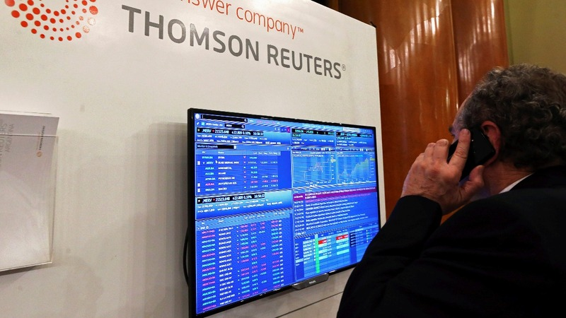 Thomson Reuters confirms deal talks with Blackstone