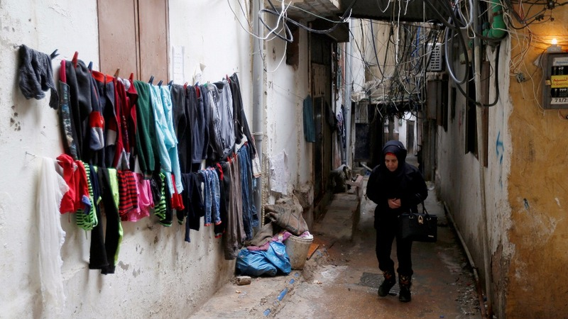 Palestinian refugees feel effects of U.S. aid cuts