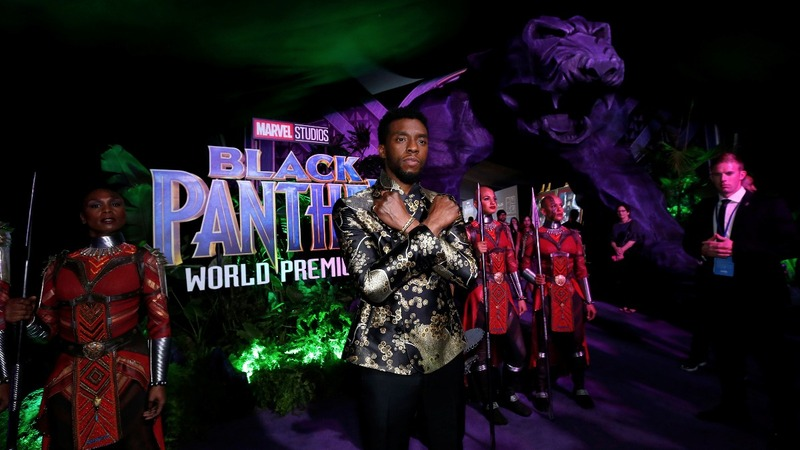 Fans and critics gush over 'Black Panther'