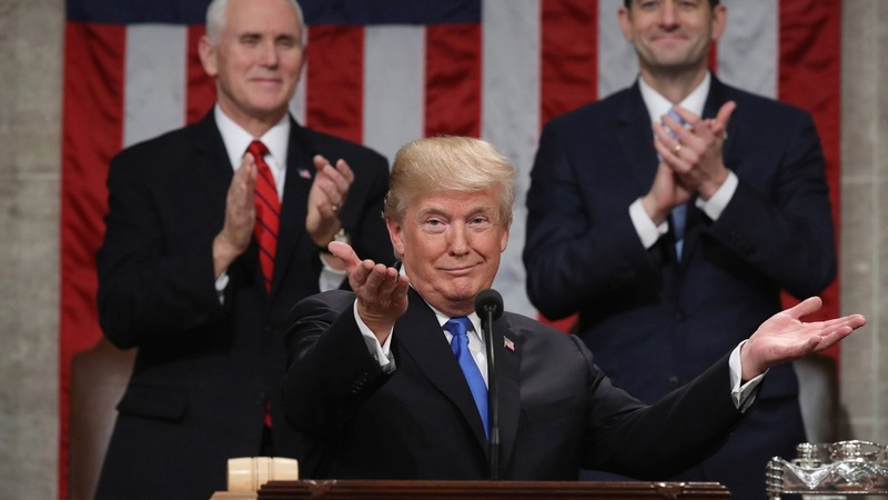 Immigration dominates Trump's State of the Union speech