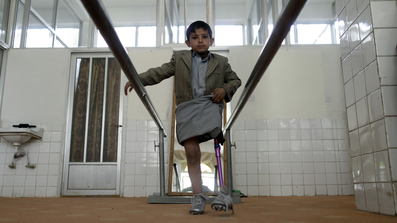Yemen's disabled struggle to get access to healthcare