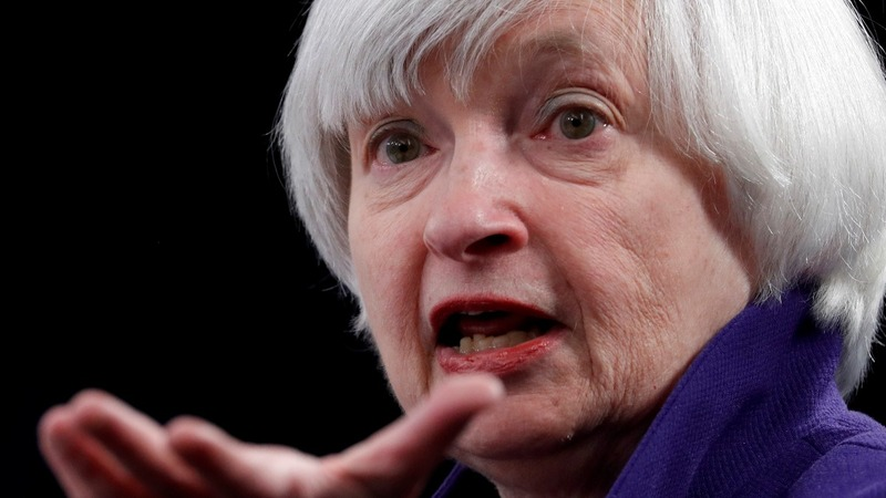 A quiet end to an eventful term for Fed Chair Yellen
