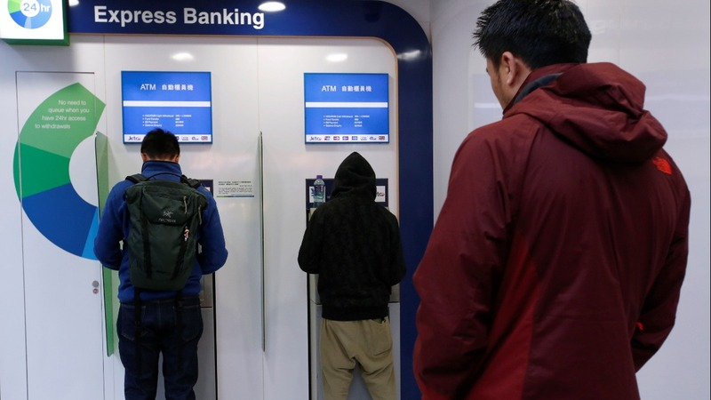 Hong Kong on alert amid $2.5 billion ATM surge