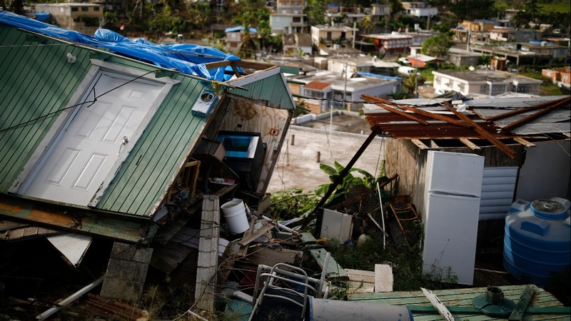 The depths of Puerto Rico's housing crisis exposed by Maria