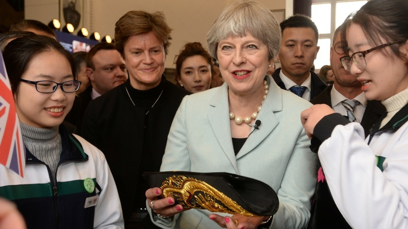 Are you OK, aunty May? China warms to UK prime minster