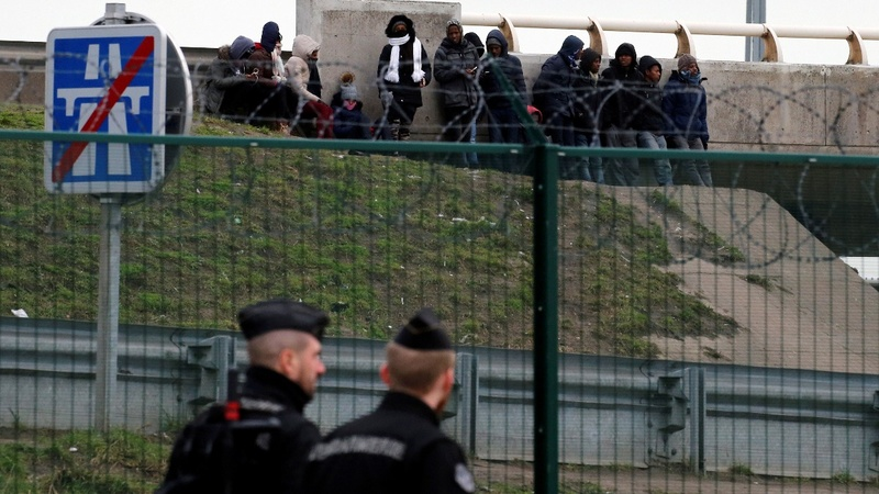 Four migrants in critical condition after Calais shooting