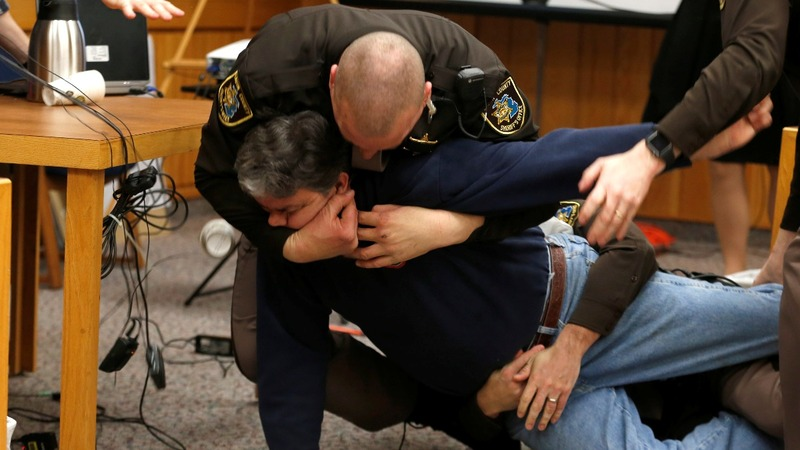 Victims' father attacks Larry Nassar in court