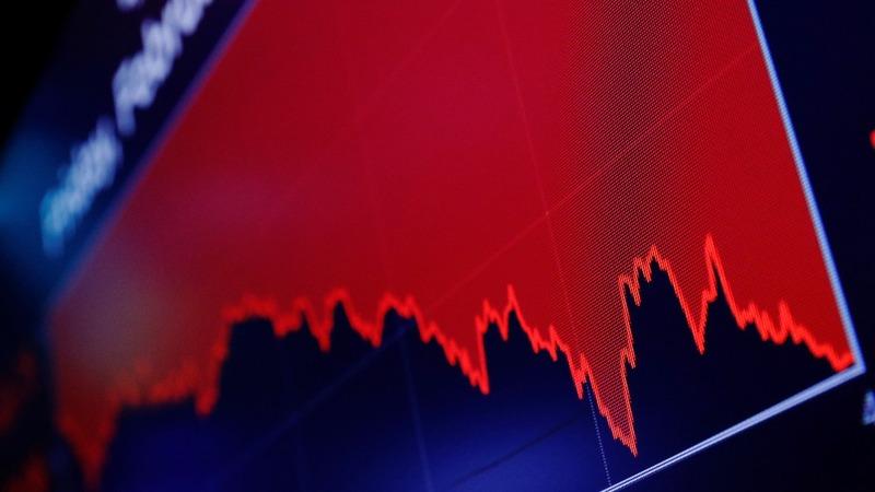 A steep drop in the Dow rocks Wall Street