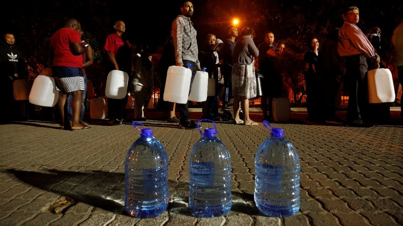 Tourism dries up in Cape Town's water crisis