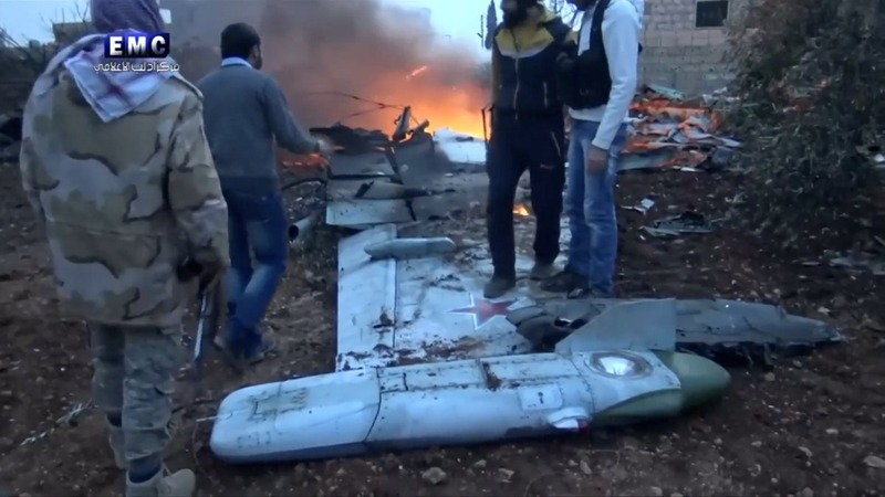 Syrian rebels take down Russian plane, kill pilot