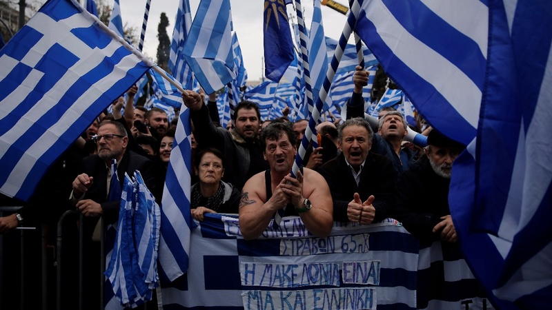 What's in a name? The Greek protest over Macedonia