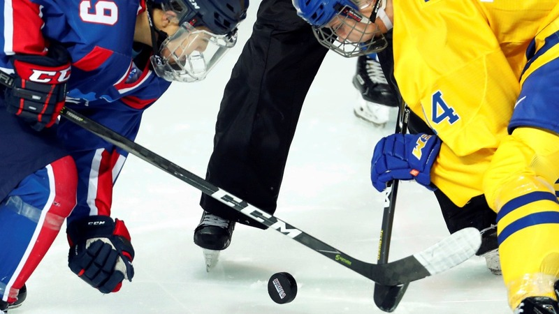 Joint Korean team debuts at ice hockey match