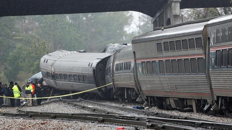South Carolina governor: Amtrak train on wrong track