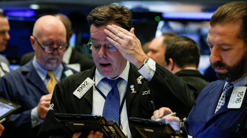 Dow plunges in massive selloff on inflation fears