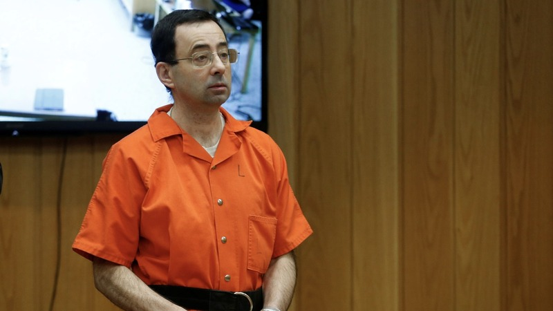 At sentencing, Nassar says he's been rocked to his 'innermost core'