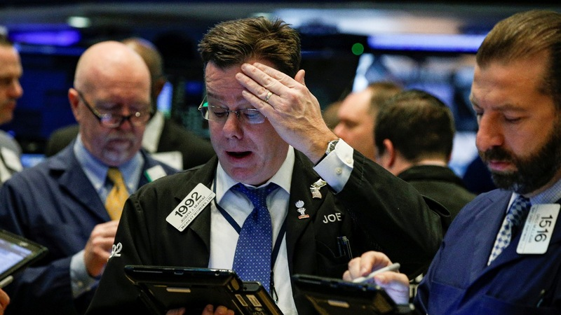 Wall Street crumbles in massive market rout