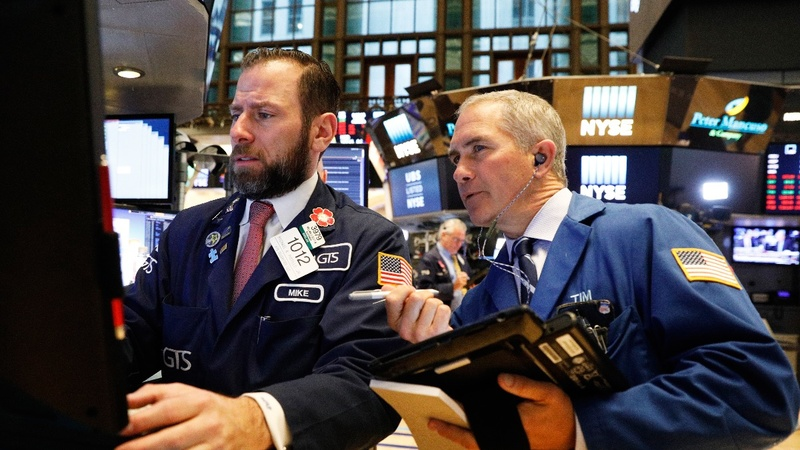U.S. stocks drop at open, then recover