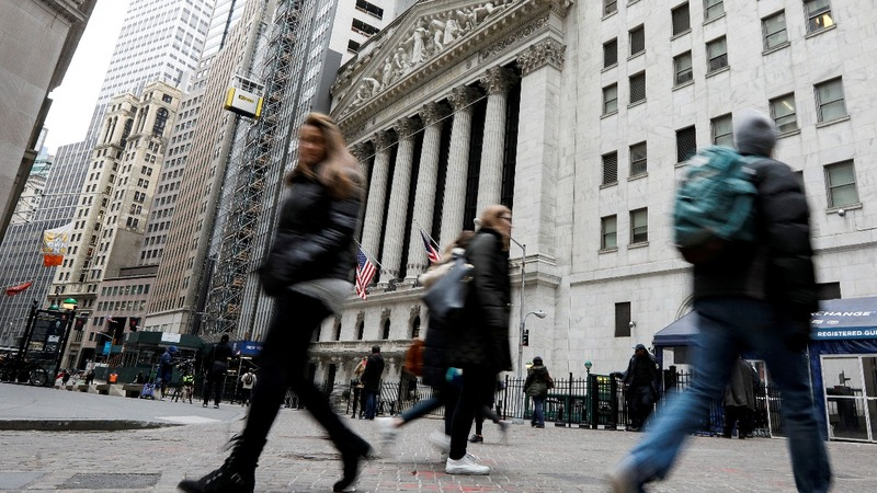 A roller-coaster ride on Wall Street