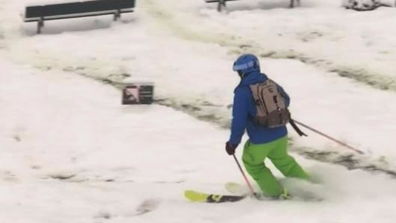 INSIGHT: Skiing in snow-covered Paris